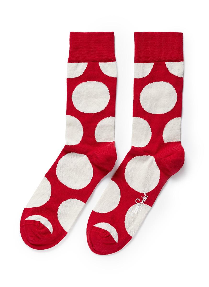 花纹袜子图片素材