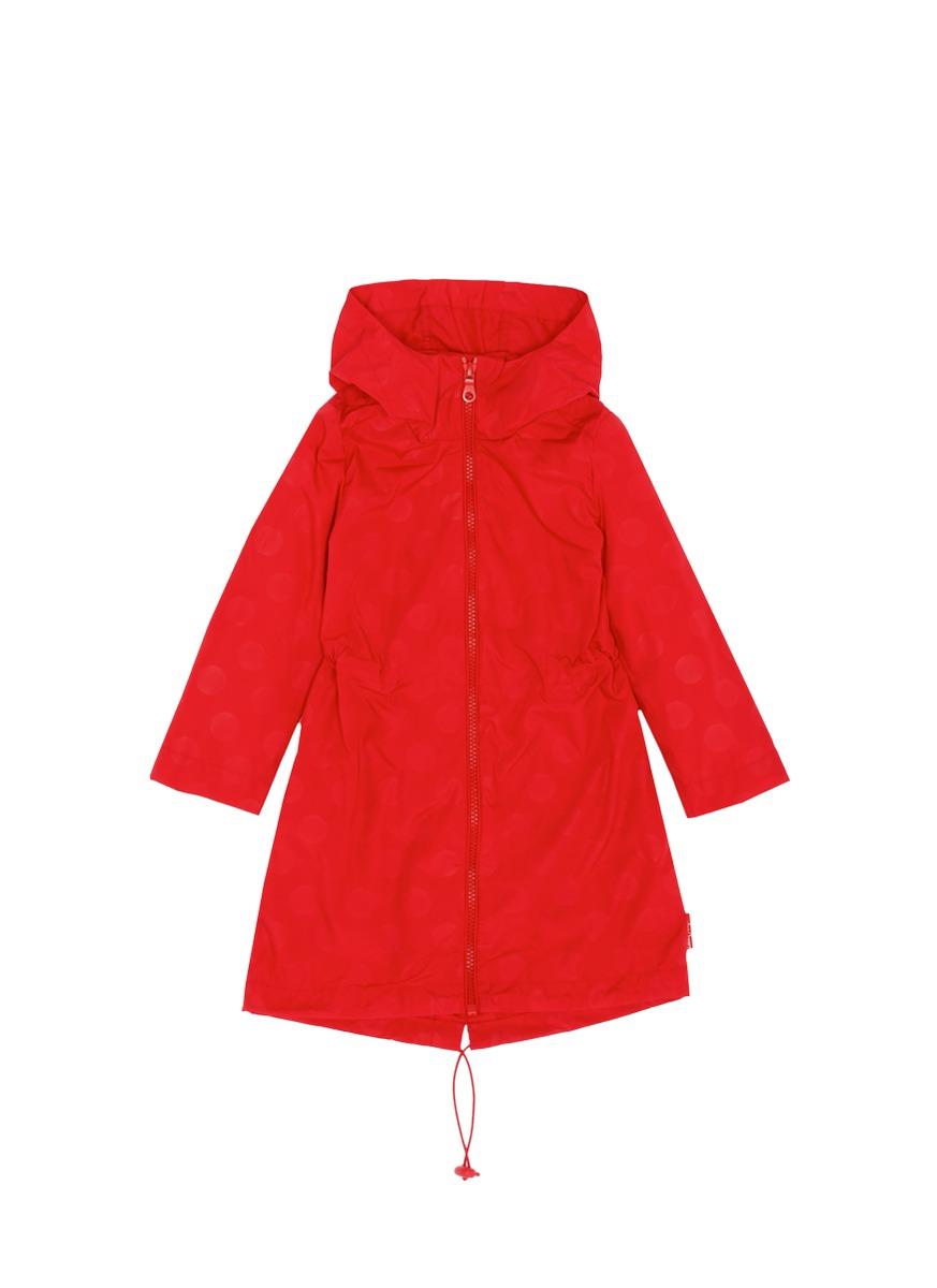 推出小熊连帽雨衣,红色圆点小熊内藏长雨衣,设计可爱休闲,让您与小孩