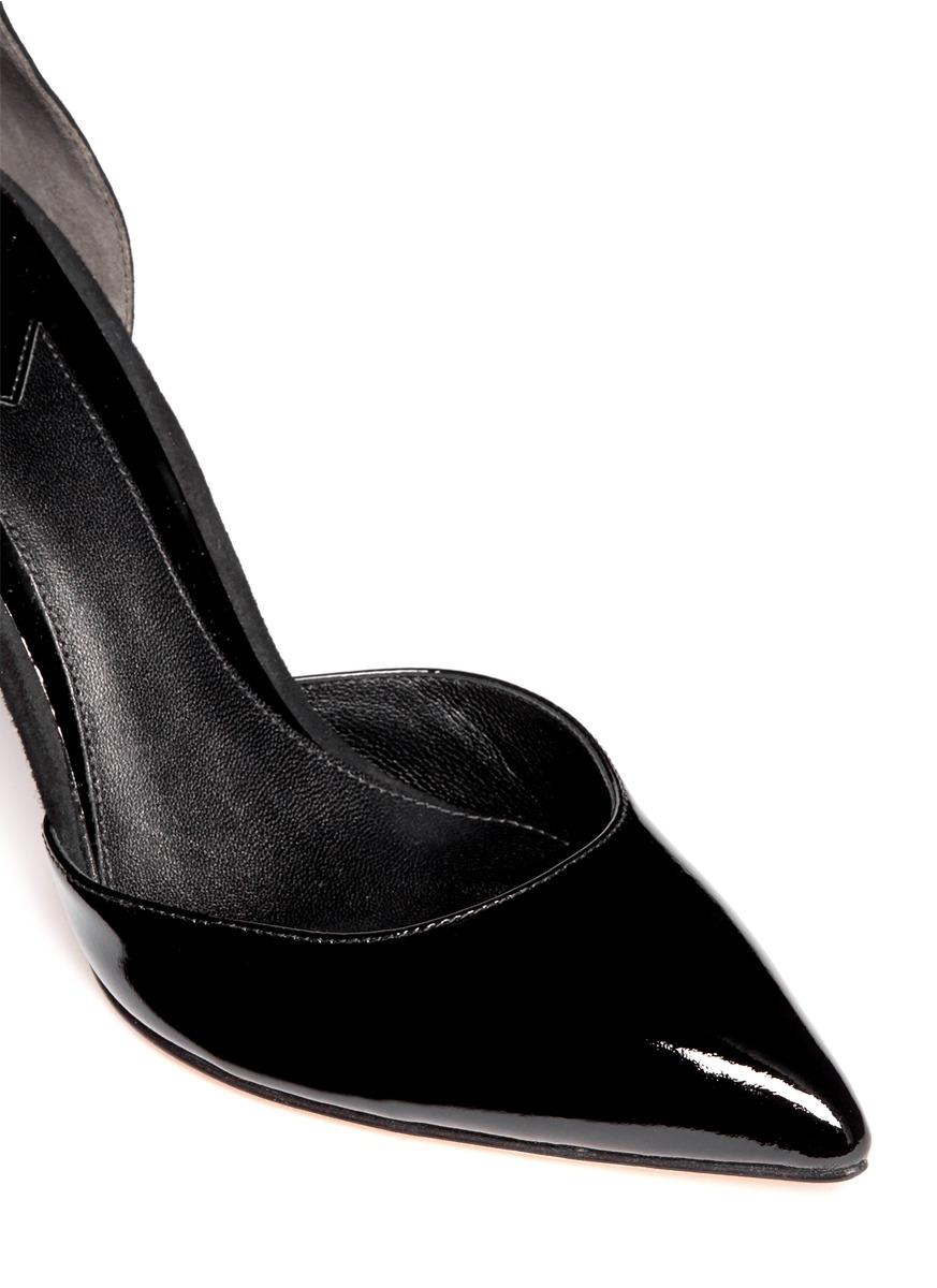 一字高跟鞋的设计图展示