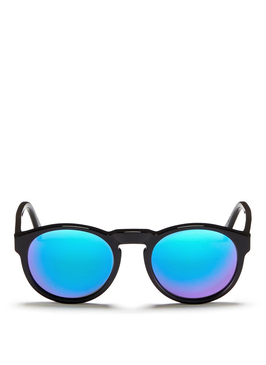 paloma板材圆框太阳眼镜