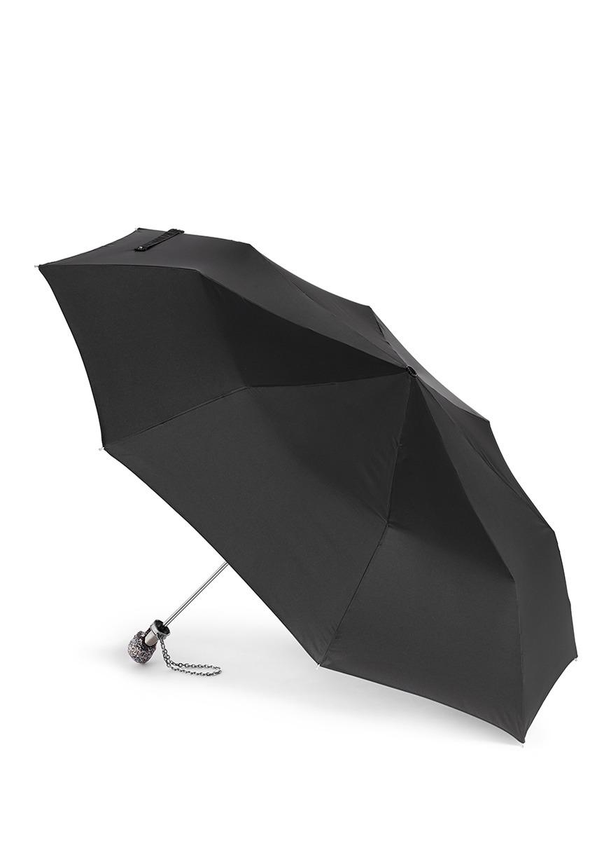 立体骷髅头折叠式雨伞