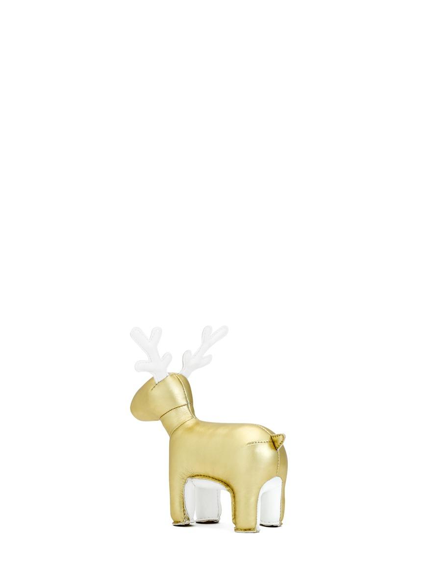 卡通动物镇纸是完美结合实用性与装饰性的绝佳家居配饰,这件麋鹿款