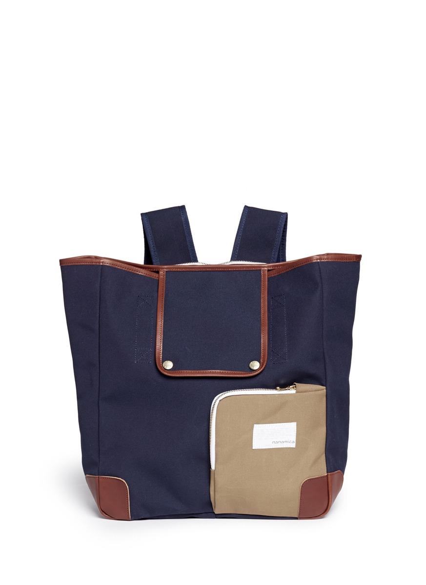 两用帆布手提包