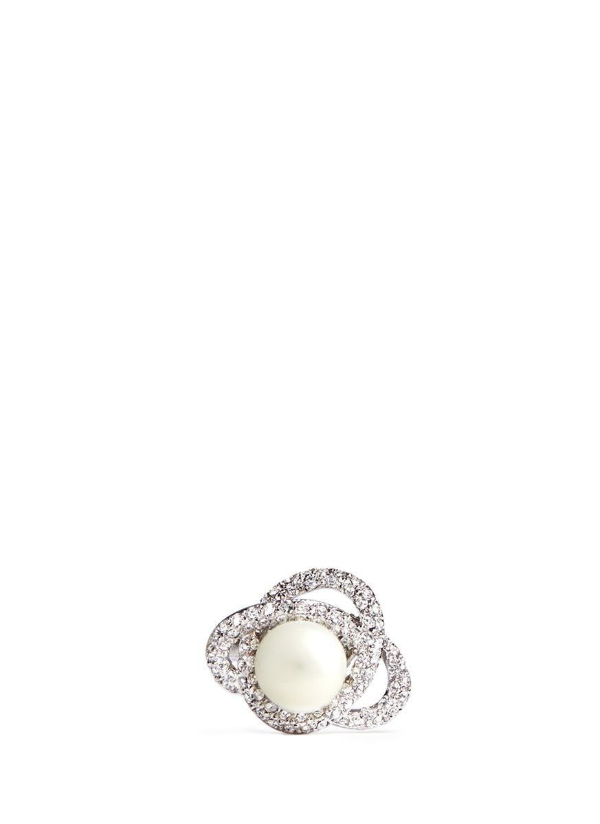 agete戒指 珍珠展示