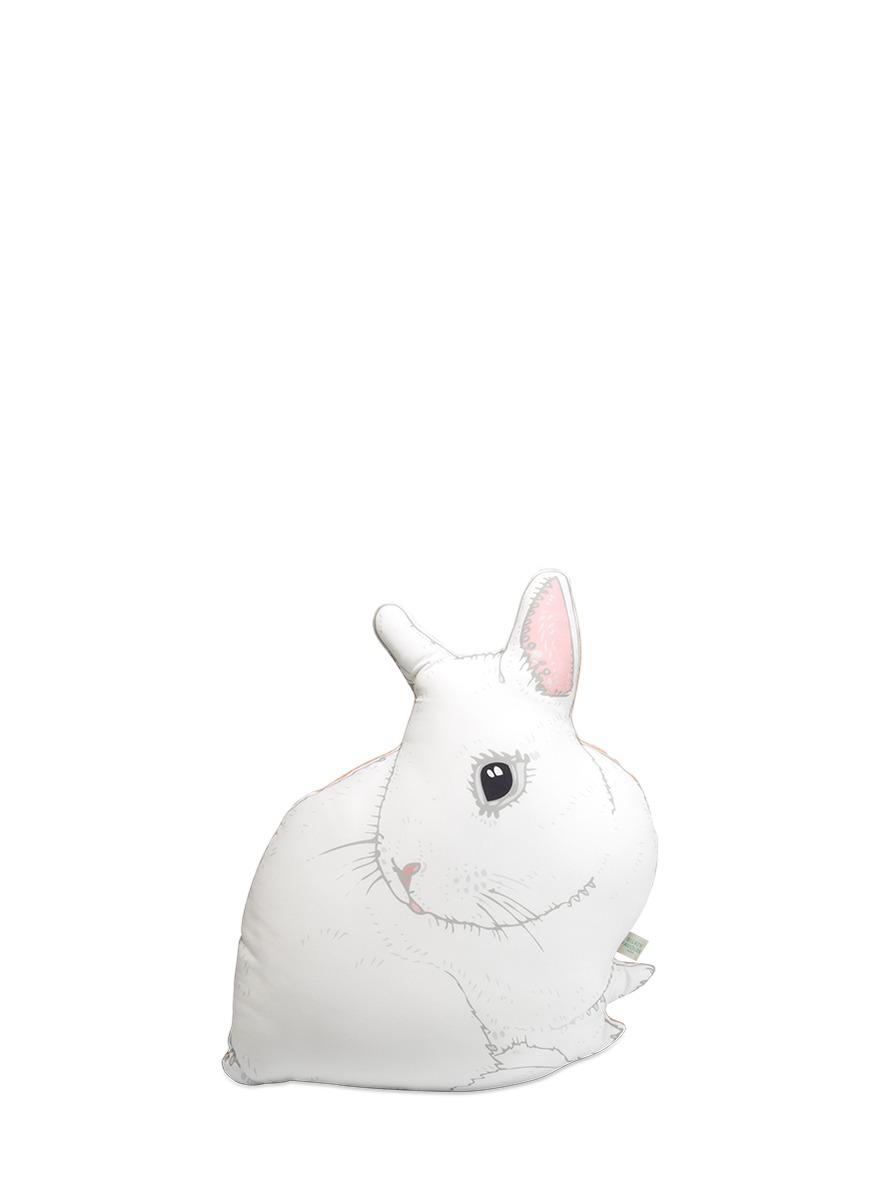 bertie小白兔真丝抱枕