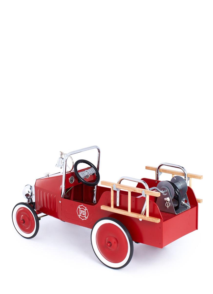 模型玩具-踏板消防车