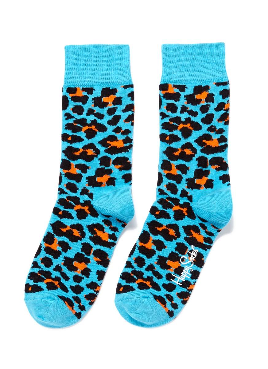 的动物图案袜子