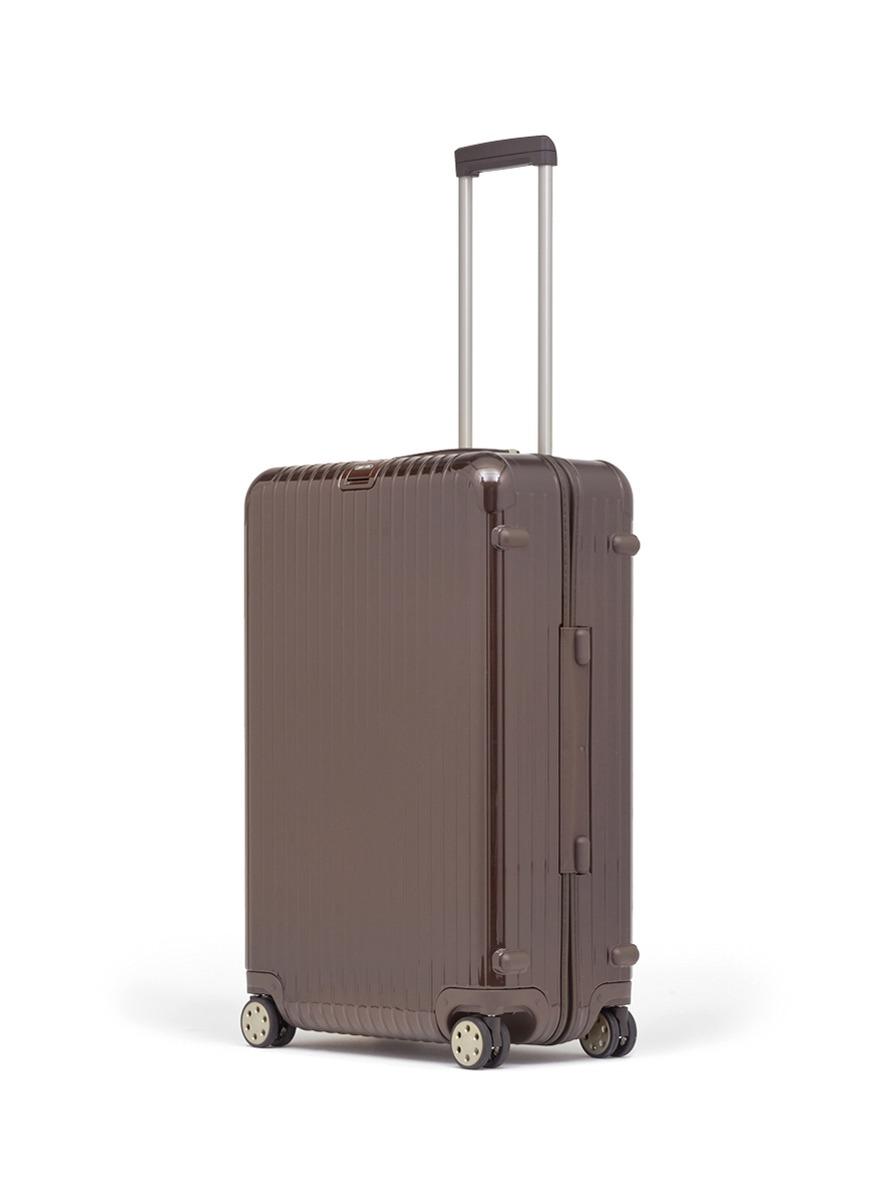 deluxe系列行李箱在经典salsa系列基础上进行改良,细节部件及设计上都