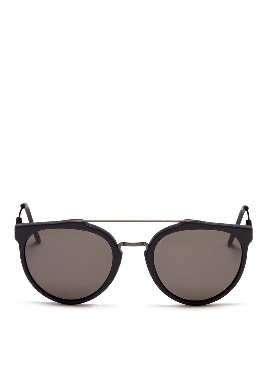 磨砂圆框眼镜