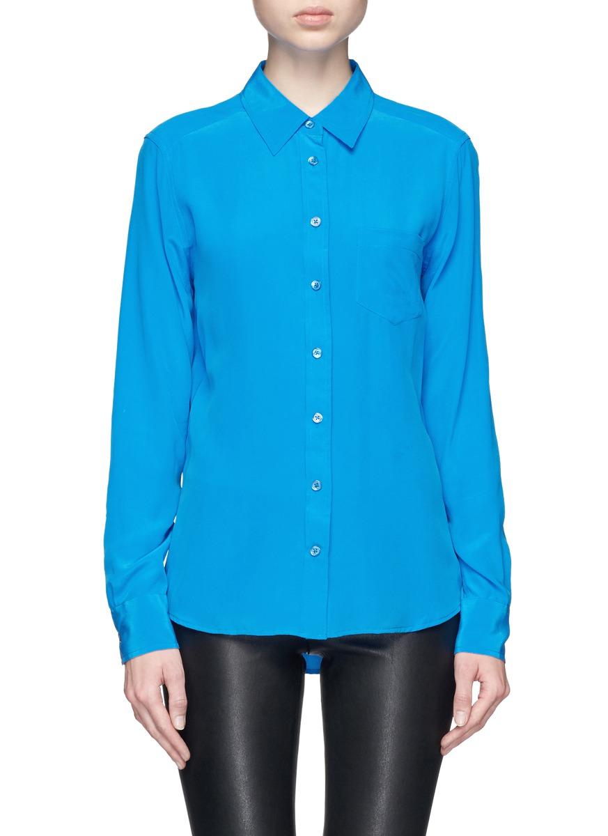 深蓝色衬衣如何搭配