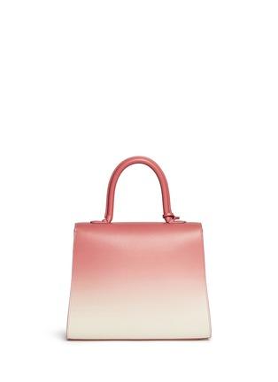 背面 - 点击放大 - DELVAUX - 'Brilliant MM' ombré leather bag