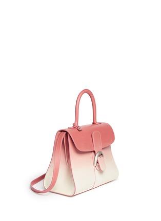 模特示范图 - 点击放大 - DELVAUX - 'Brilliant MM' ombré leather bag