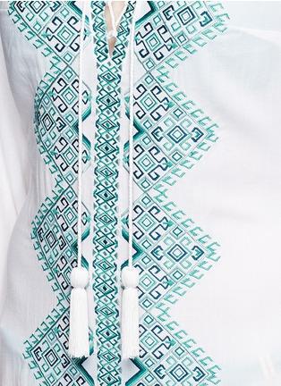 细节 - 点击放大 - TALITHA - 民族风刺绣流苏搭带连衣裙