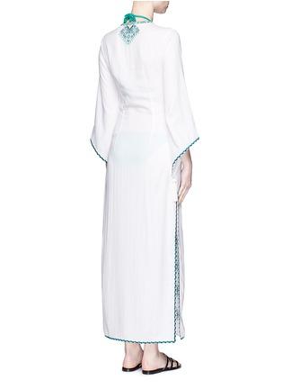 背面 - 点击放大 - TALITHA - 民族风刺绣流苏搭带连衣裙