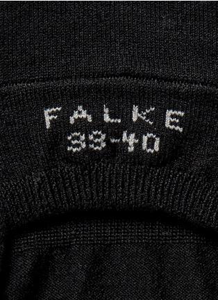 细节 - 点击放大 - FALKE - COOL 24/7混棉散热袜子