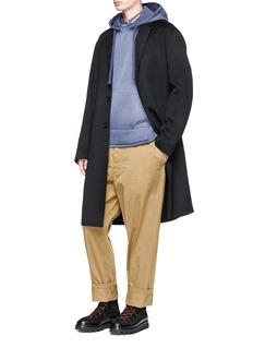 ACNE STUDIOS Chad Oversize羊毛混羊绒大衣