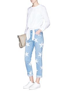 STELLA MCCARTNEY 五角星图案低腰牛仔裤