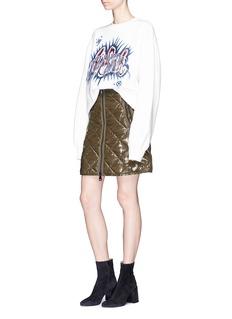Moncler 菱形绗缝羽绒半身裙