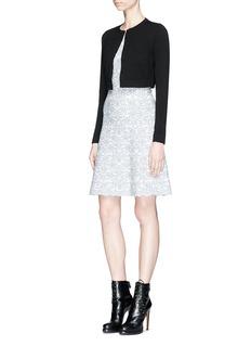 ALAÏA 混羊毛针织短款外套