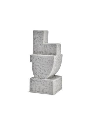 首图 –点击放大 - L'OBJET - Cubisme Two几何造型陶器书立