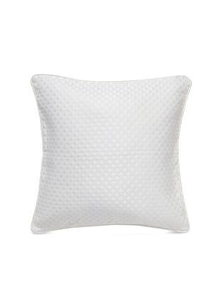 首图 –点击放大 - FRETTE - Illusione几何提花方形靠垫-白色