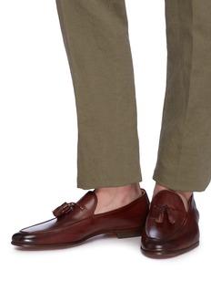 Magnanni 流苏装饰真皮乐福鞋