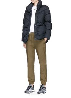 PHVLO 可拆式衣袖夹棉绗缝外套