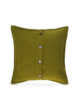 首图 –点击放大 - Society Limonta - Rem亚麻靠垫套两件套-开心果绿色