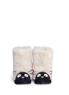EMU AUSTRALIA Lamb儿童款小羊造型短靴