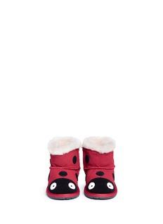 EMU AUSTRALIA Ladybird Walker婴儿款瓢虫造型绒面羊皮短靴
