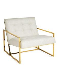 JONATHAN ADLER Goldfinger绗缝沙发椅-米色