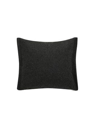 首图 –点击放大 - MOROSO - Gentry鹅绒填充混羊毛靠垫-炭灰色