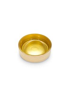 LABRAZEL Woven搪瓷编织纹理玻璃皂碟-金色