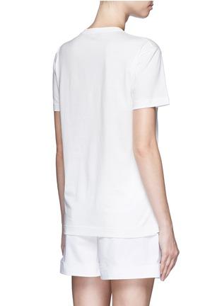 背面 - 点击放大 - DOLCE & GABBANA - 家庭刺绣拼贴图案T恤