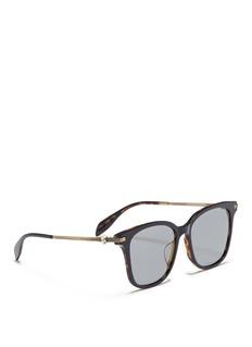Alexander McQueen 骷髅头方框太阳眼镜