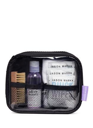 模特儿示范图 - 点击放大 - JASON MARKK - 鞋履清洁旅行套装