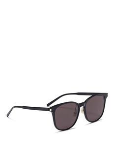 SAINT LAURENT K Slim 001板材方框太阳眼镜