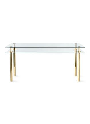 首图 –点击放大 - Ghidini 1961 - Legs双层玻璃板长方形桌-小号