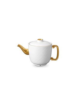 首图 –点击放大 - L'OBJET - HAN镀金点缀茶壶