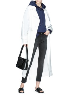 ACNE STUDIOS Yala品牌名称提花连帽卫衣
