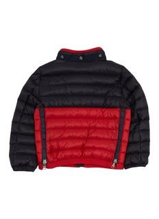 Moncler Brech幼儿款拼色绗缝羽绒夹克