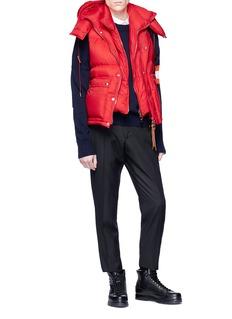 Alexander McQueen 双层绗缝羽绒马甲
