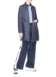 Moncler 绗缝羽绒大衣