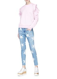 STELLA MCCARTNEY 五角星图案修身露踝牛仔裤