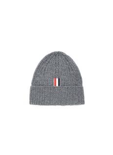 THOM BROWNE 四重条纹羊绒针织帽
