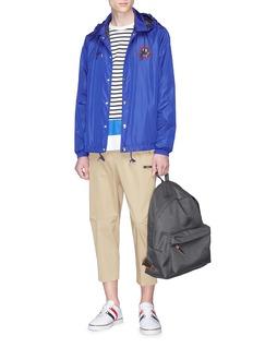 Moncler Lance笑脸品牌标志连帽夹克