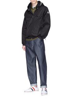 Moncler 品牌名称双层兜帽夹克