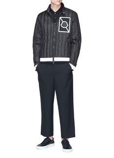 Moncler x Craig Green Altman反光细节防泼水绗缝羽绒夹克