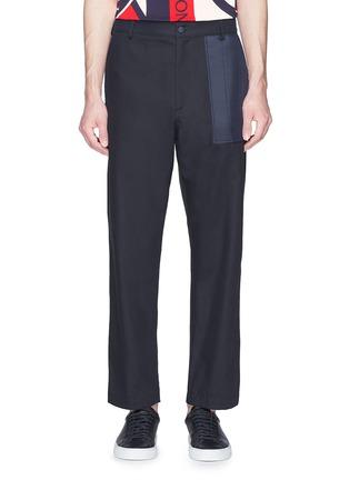 首图 - 点击放大 - MONCLER - x Craig Green绗缝拼接纯棉长裤