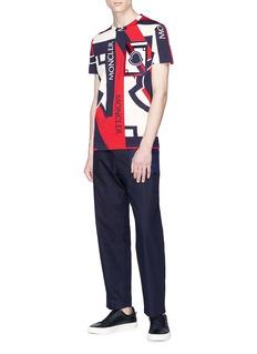 Moncler x Craig Green绗缝拼接纯棉长裤